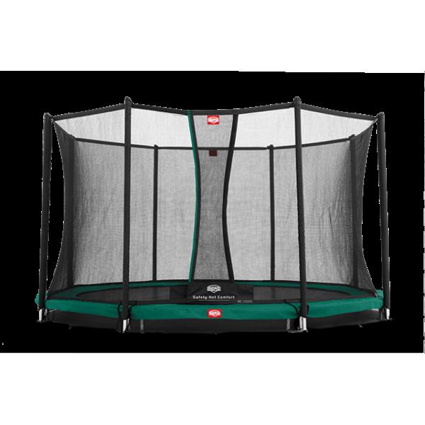 Trampolina BERG InGround Favorit 270 - 430 z siatką Comfort
