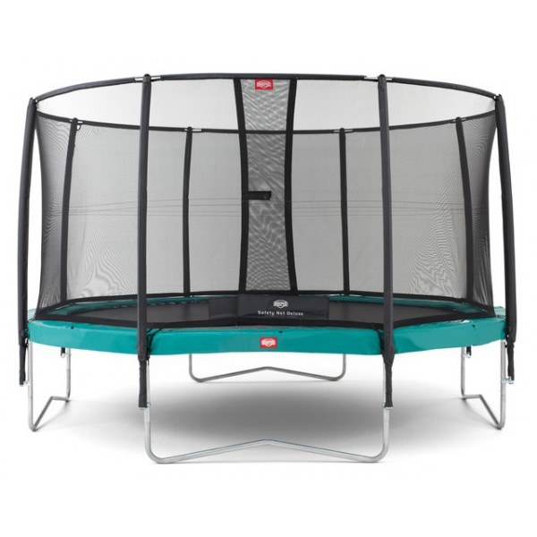 Trampolina BERG InGround Champion 270 - 430 siatka Deluxe