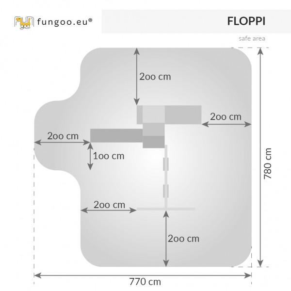 Plac zabaw Floppi Fungoo Tikowy
