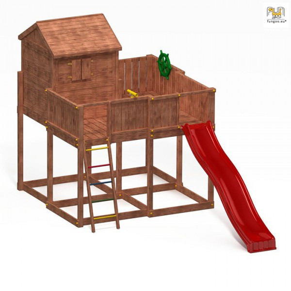 Domek drewniany My Space XL Fungoo