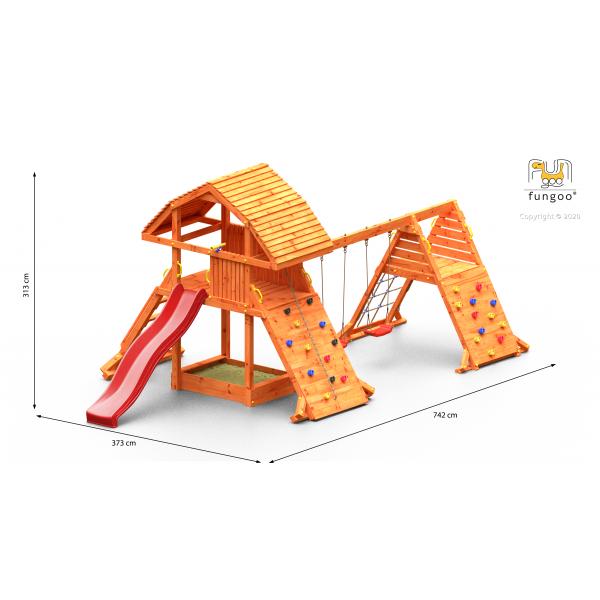 Wieża drewniana Giant + double spider FUNGOO