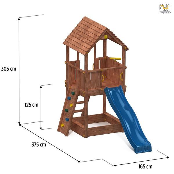 Wieża drewniana Joy Fungoo