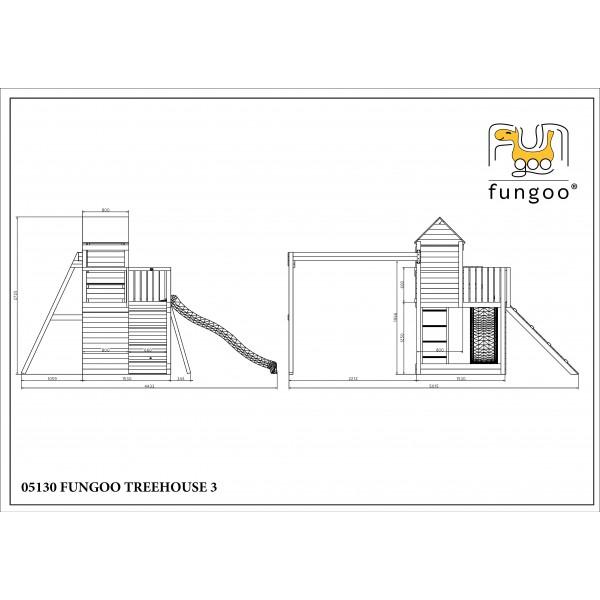 Plac zabaw TreeHouse Fungoo