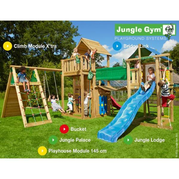 Kombinacja Mega Big Western Jungle Gym