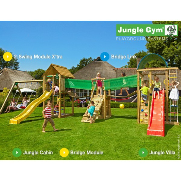 Kombinacja Mega Giant Jungle Gym