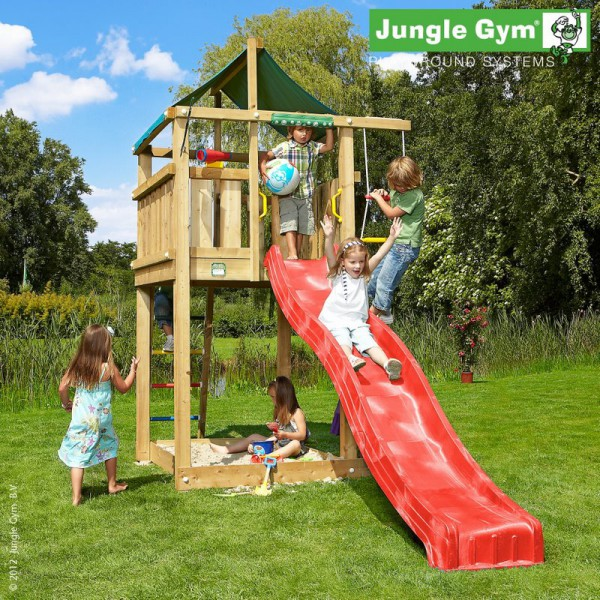 Plac zabaw Jungle Lodge Jungle Gym