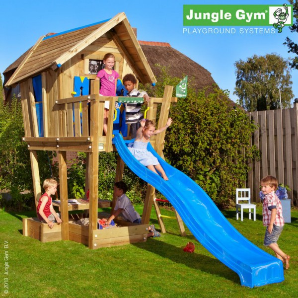 Domek  Crazy Playhouse na platformie XL Jungle Gym