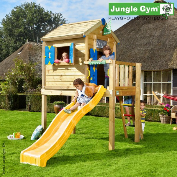 Domek Playhouse na platformie L Jungle Gym