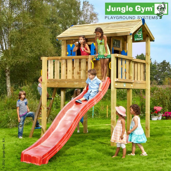 Domek Playhouse na platformie XL Jungle Gym