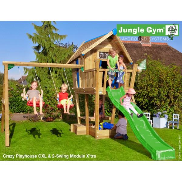 Plac zabaw Domek Cwanego Jungle Gym