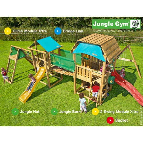 Kombinacja Mega Long John Jungle Gym