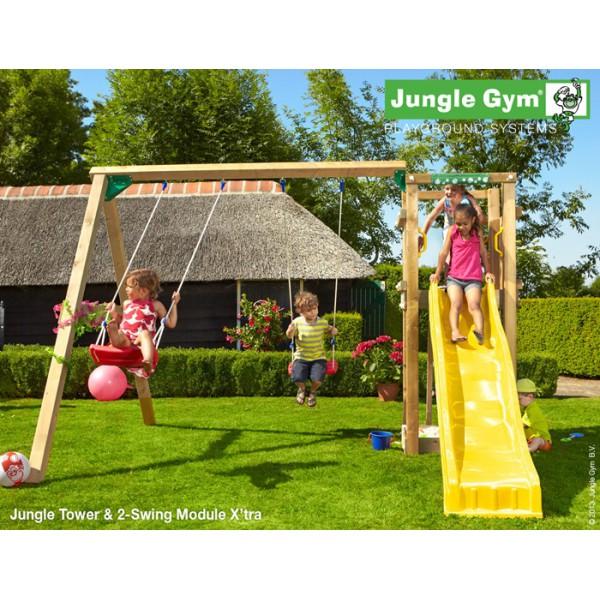 Plac zabaw Twin tower Jungle Gym