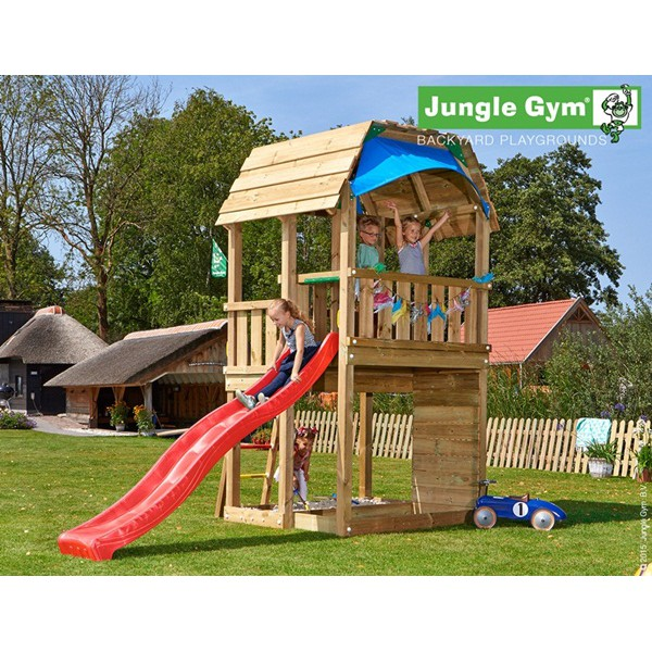 Plac zabaw Jungle Barn Jungle Gym