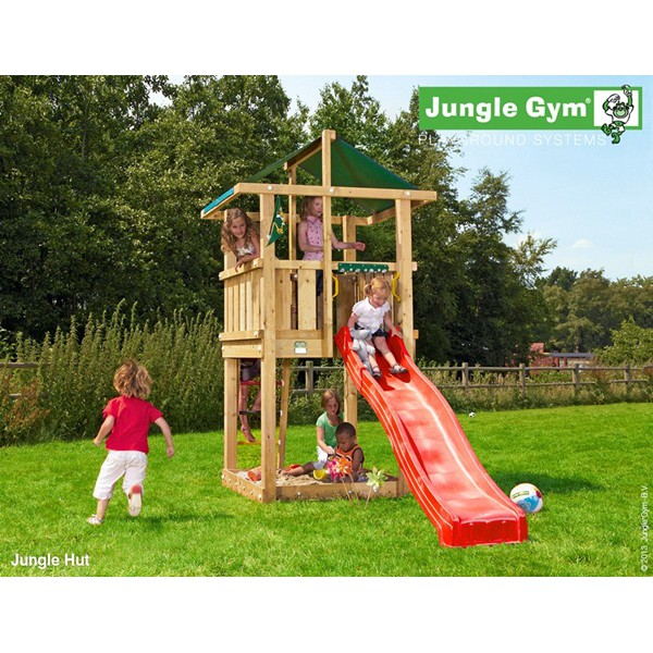 Plac zabaw Jungle Hut Jungle Gym