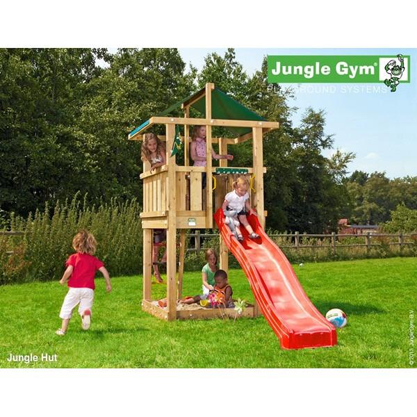Plac zabaw Jungle Hut Jungle Gym