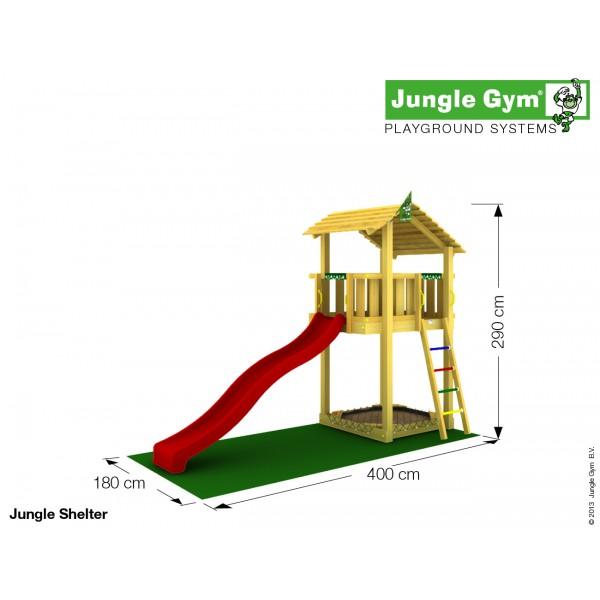 Plac zabaw Jungle Shelter Jungle Gym