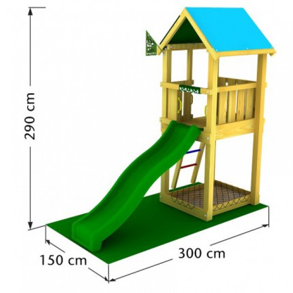 Plac zabaw Jungle Castle Jungle Gym