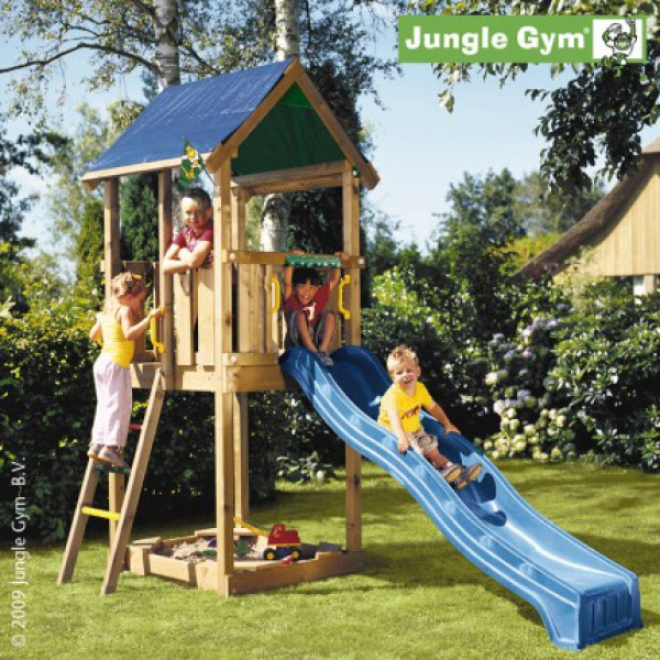 Plac zabaw Jungle Castle Jungle Gym