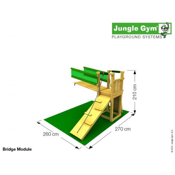 Plac zabaw Radosna Polana Jungle Gym