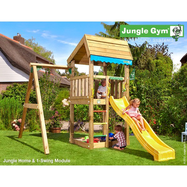 Plac zabaw Swing Home Jungle Gym