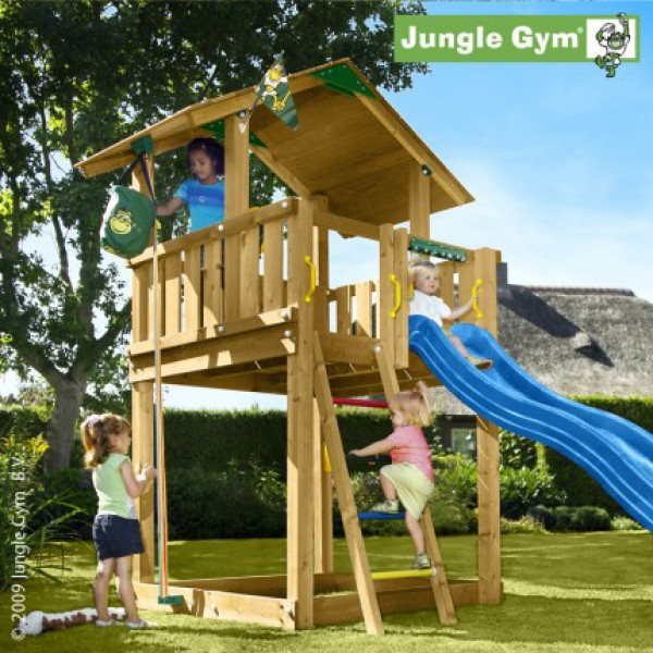 Plac zabaw Jungle Chalet Jungle Gym