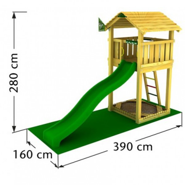Plac zabaw Jungle Cottage Jungle Gym