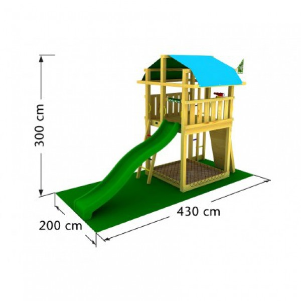 Plac zabaw Jungle Fort Jungle Gym