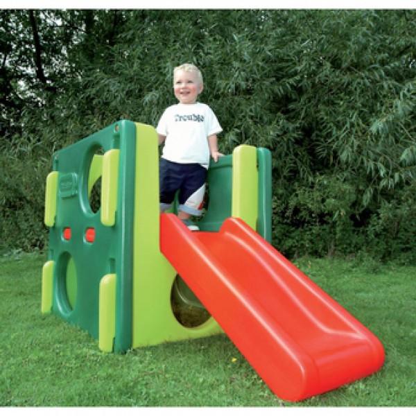 Plac zabaw Małpi Gaj ze zjeżdżalnią dla maluchów  Little Tikes