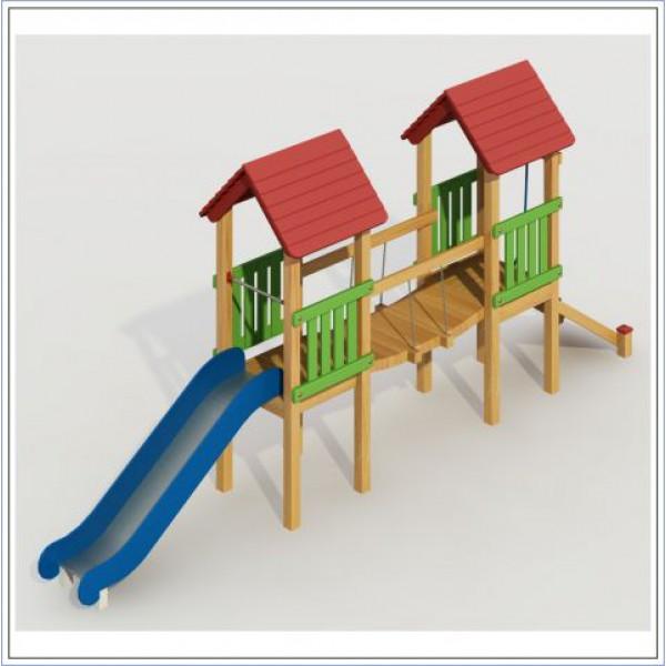 Plac zabaw ze zjeżdżalnią Małpka PROSYMPATYK