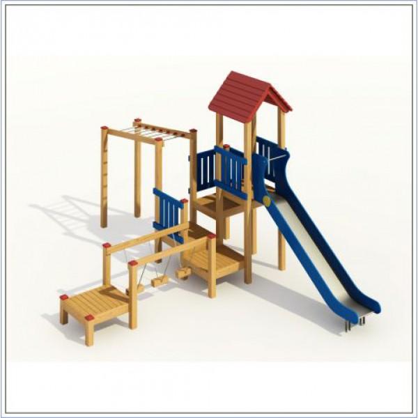 Plac zabaw ze zjeżdżalnią Bolek PROSYMPATYK