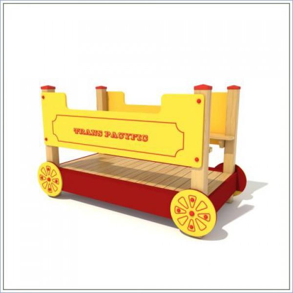 Drewniany wagon  PROSYMPATYK