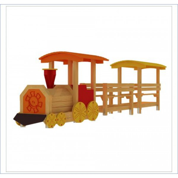 Pociąg z dwoma wagonami PROSYMPATYK