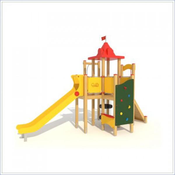 Plac zabaw ze zjeżdżalnią Forteca PROSYMPATYK