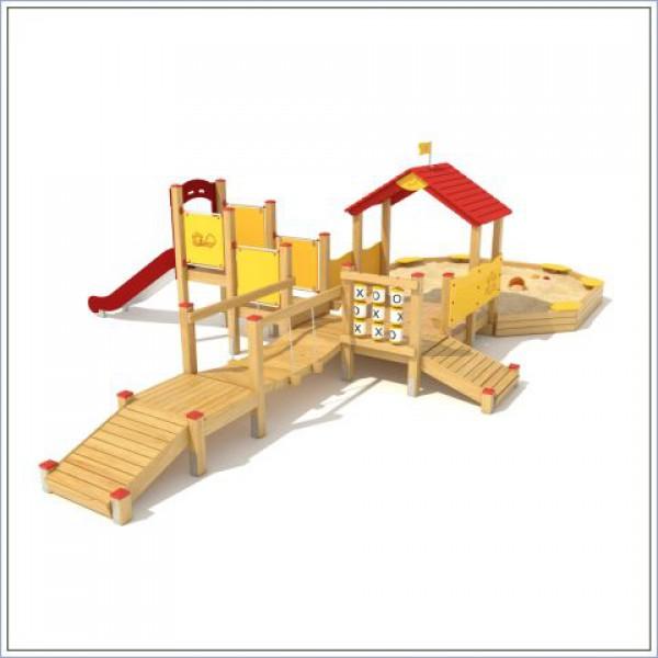 Plac zabaw ze zjeżdżalnią Przedszkolak PROSYMPATYK