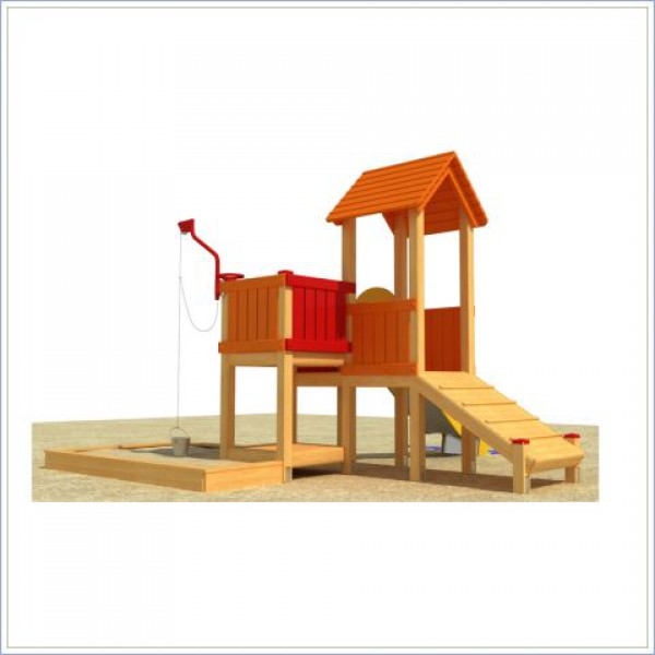 Plac zabaw ze zjeżdżalnią Strażnica PROSYMPATYK