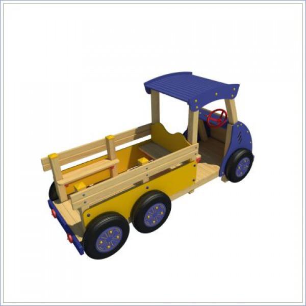Drewniana ciężarówka PROSYMPATYK