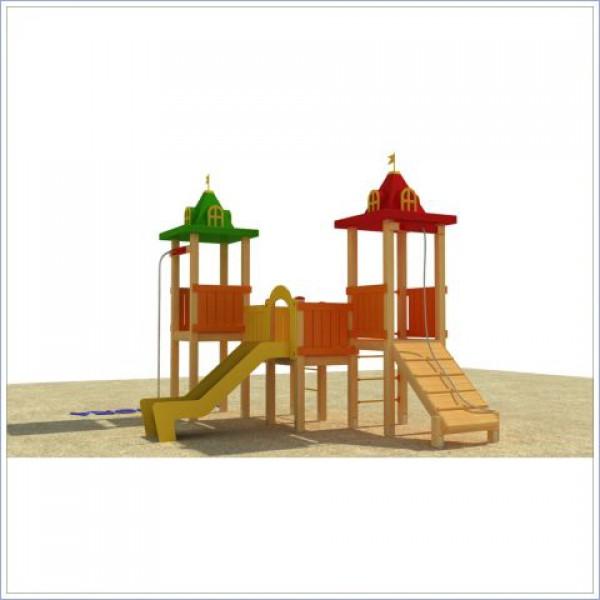 Plac zabaw ze zjeżdżalnią Wiewióra PROSYMPATYK