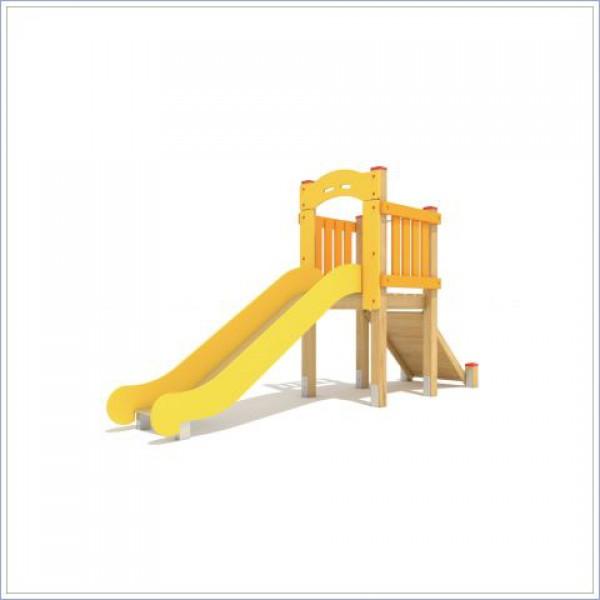 Zjeżdżalnia Miki mini o długości ślizgu 250 cm PROSYMPATYK