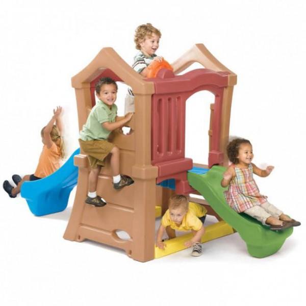 Plac zabaw ze zjeżdżalniami Wieża Step 2