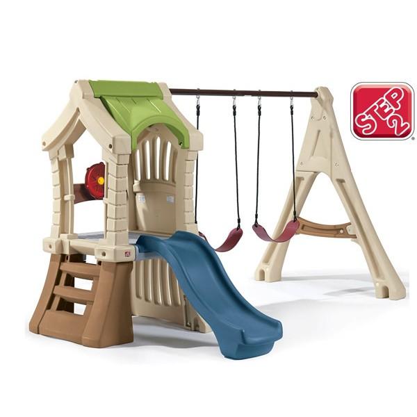 Plac zabaw Wieża z huśtawkami Step 2