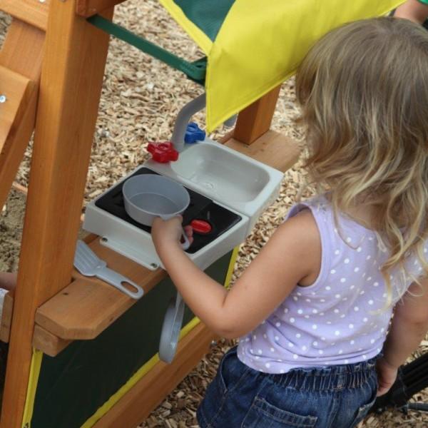 Drewniany plac zabaw Słoneczne Bistro Kidkraft