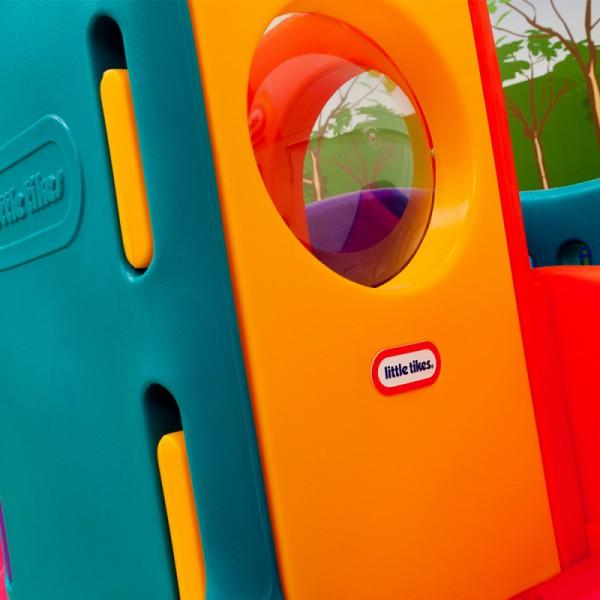 Little Tikes Wielki Plac Zabaw Olbrzym ze Zjeżdżalniami