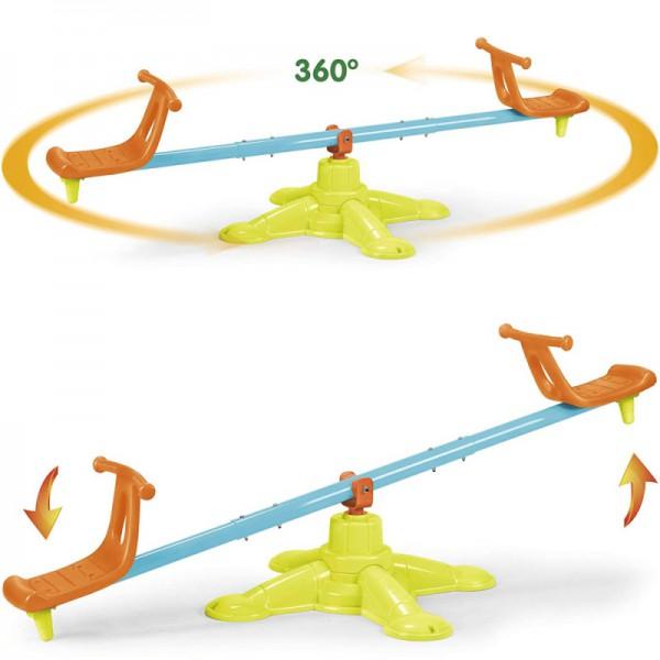 Feber Huśtawka Równoważna - Karuzela Dwuosobowa 2w1 Duo Swing