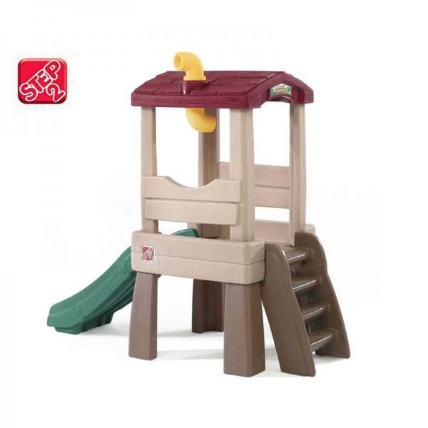 Wieża z peryskopem Plac Zabaw Zjeżdżalnia