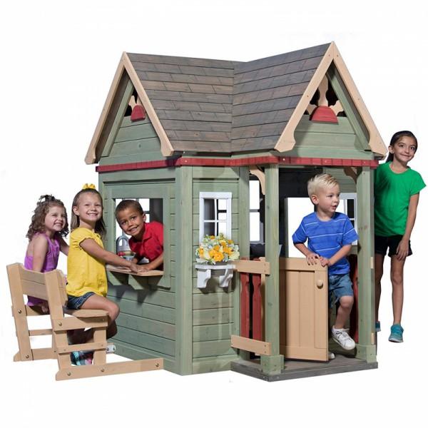 Drewniany domek dla dzieci Victorian Inn Backyard Discovery