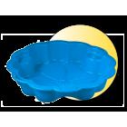 Plastikowa piaskownica Stokrotka z przykryciem 3TOY
